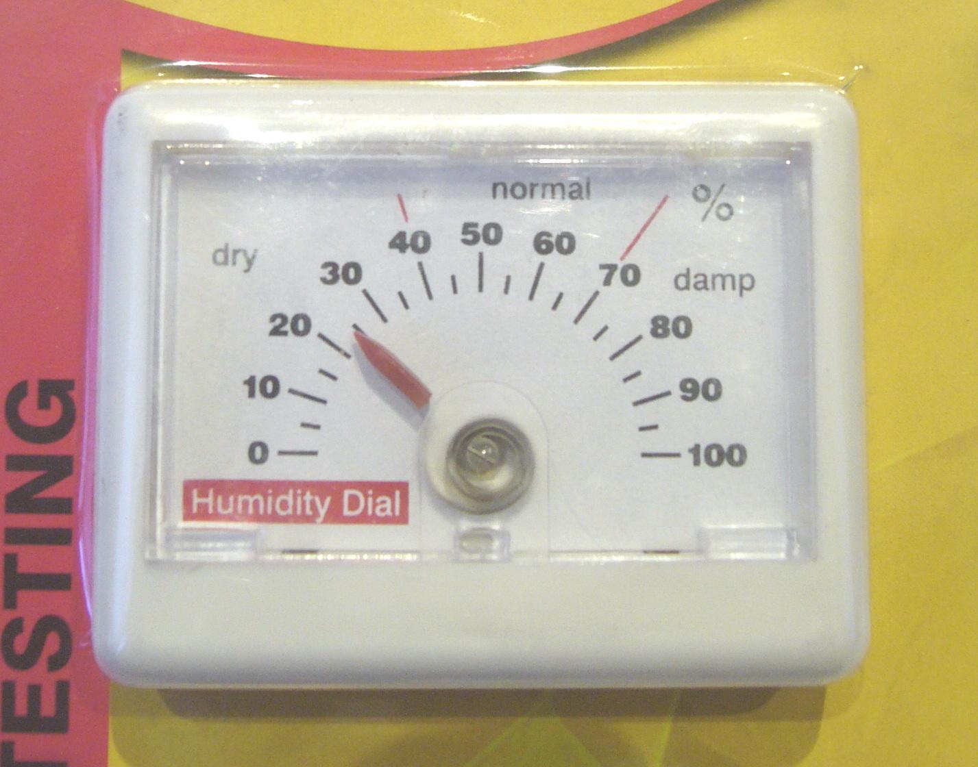 Гигрометр (измеритель влажности воздуха)
