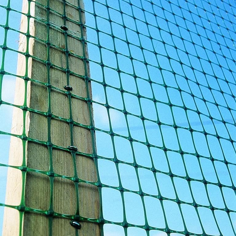 Пластиковая сетка для строительства (фасадная, затеняющая, а.