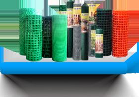 Пластиковые сетки и решетки